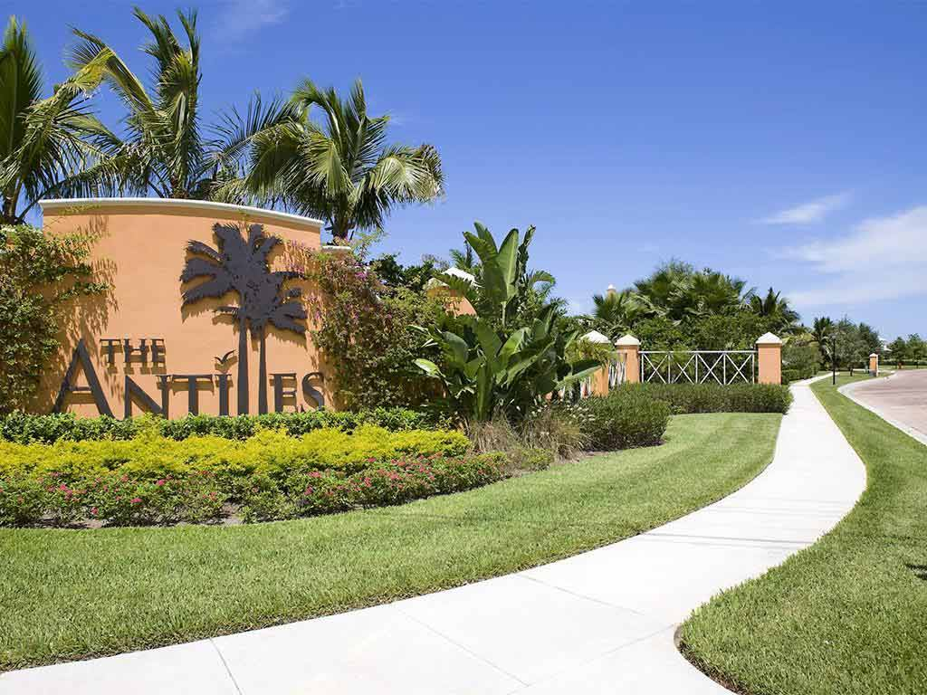 The Antilles Vero Beach HOA Entrance