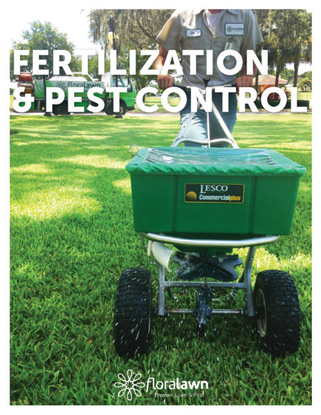 Fertilization and Pest Control Flyer - Floralawn