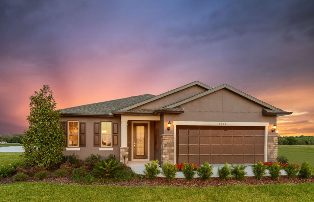 Centex-Orlando-Florida-Fountain-Park-Canopy-Exterior-Twilight