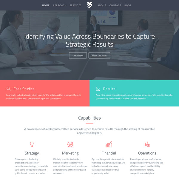 Website Template - Catalyst - Consulting