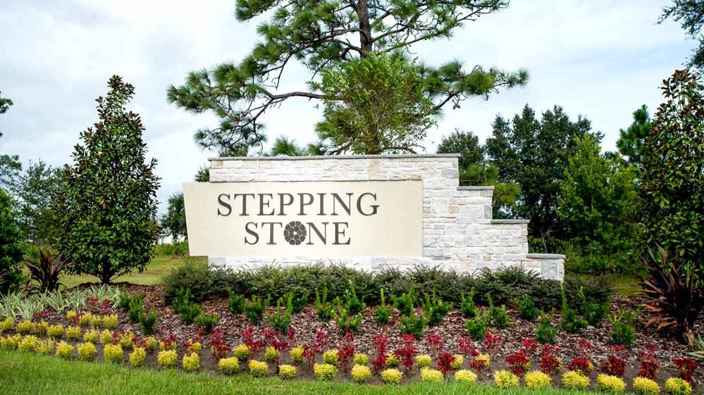 Stepping Stone HOA Entrance Sign